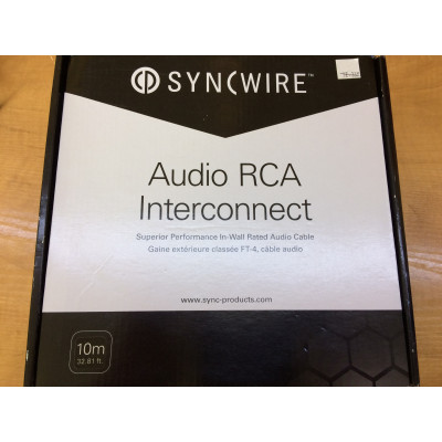 Cable RCA Double 10M Syncwire