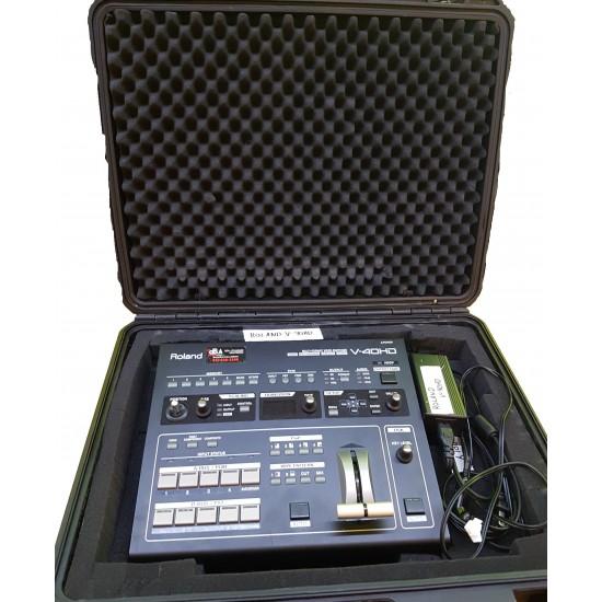 V-40HD Sélecteur vidéo multiformat (usagé) + Coffre