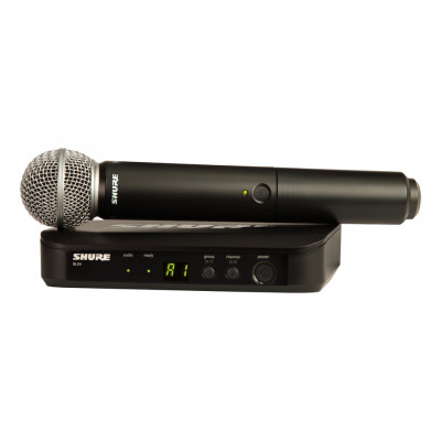BLX24/SM58  Système microphone sans-fil Shure