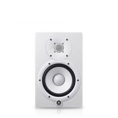 HS7I Blanc Moniteur studio amplifié Yamaha