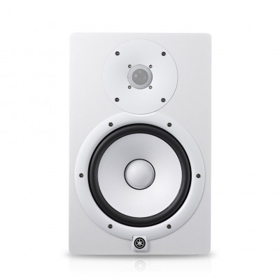 HS8 Blanc Moniteur studio amplifié Yamaha