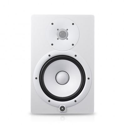HS8I Blanc Moniteur studio amplifié Yamaha